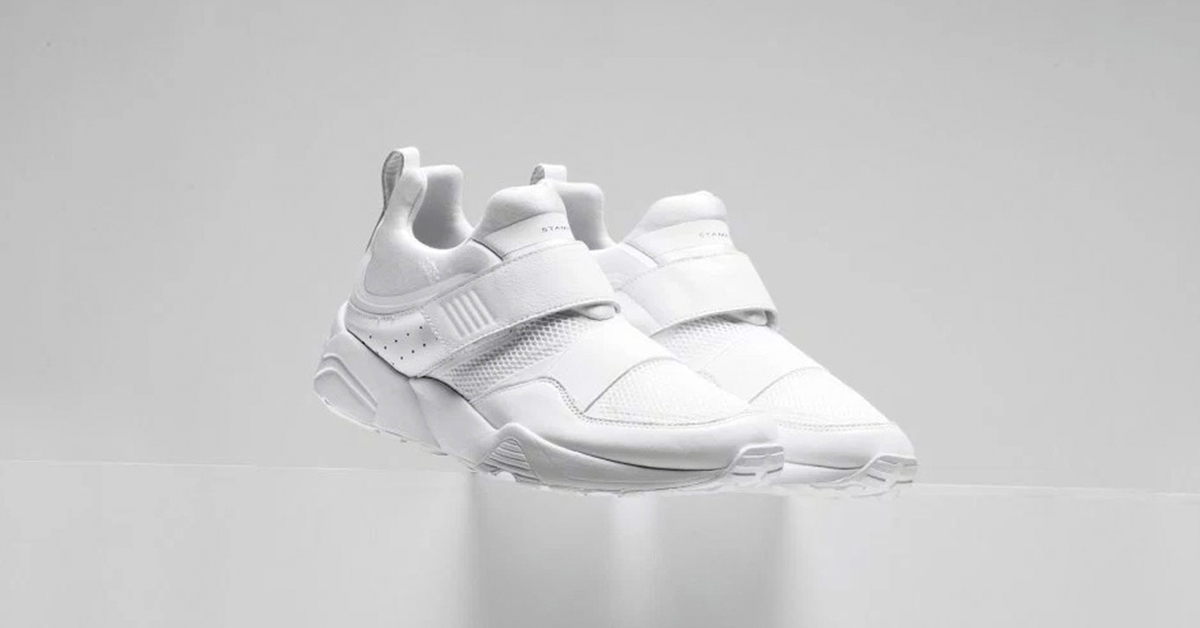 Stampd x Puma Blaze of Glory Strap White