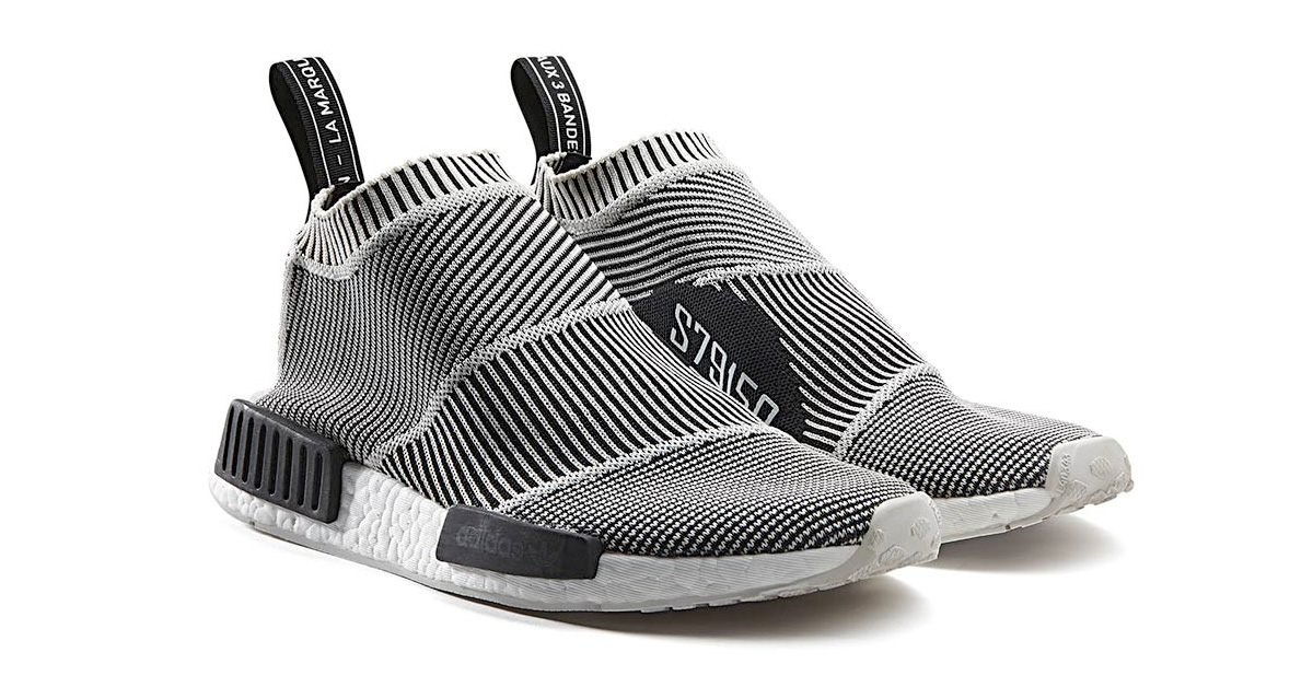 Adidas NMD CS1 Primeknit Black White