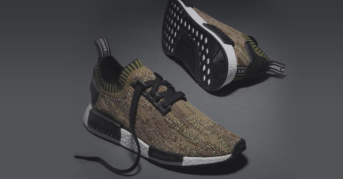 adidas nmd primeknit grøn