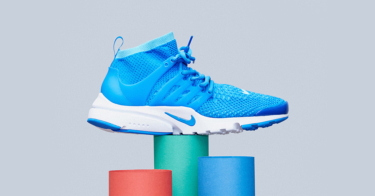 Nike Air Presto Flyknit Blue