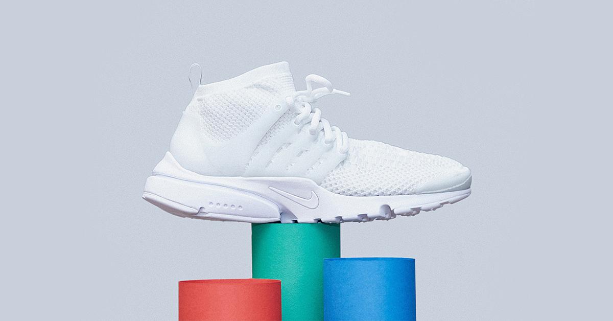 Nike Air Presto Flyknit White