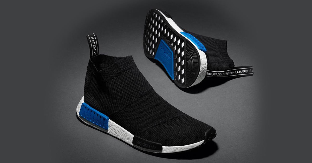 adidas nmd cs1 primeknit core black cool sneakers. Black Bedroom Furniture Sets. Home Design Ideas