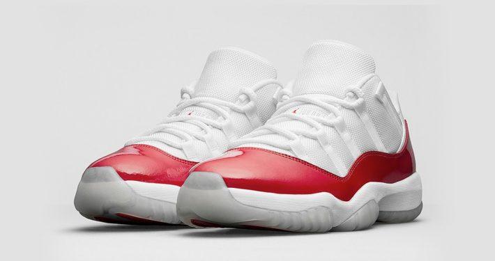 Nike Air Jordan 11 Low Retro Varsity Red