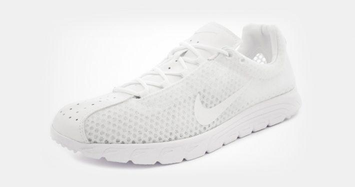 Nike Mayfly Premium Triple White