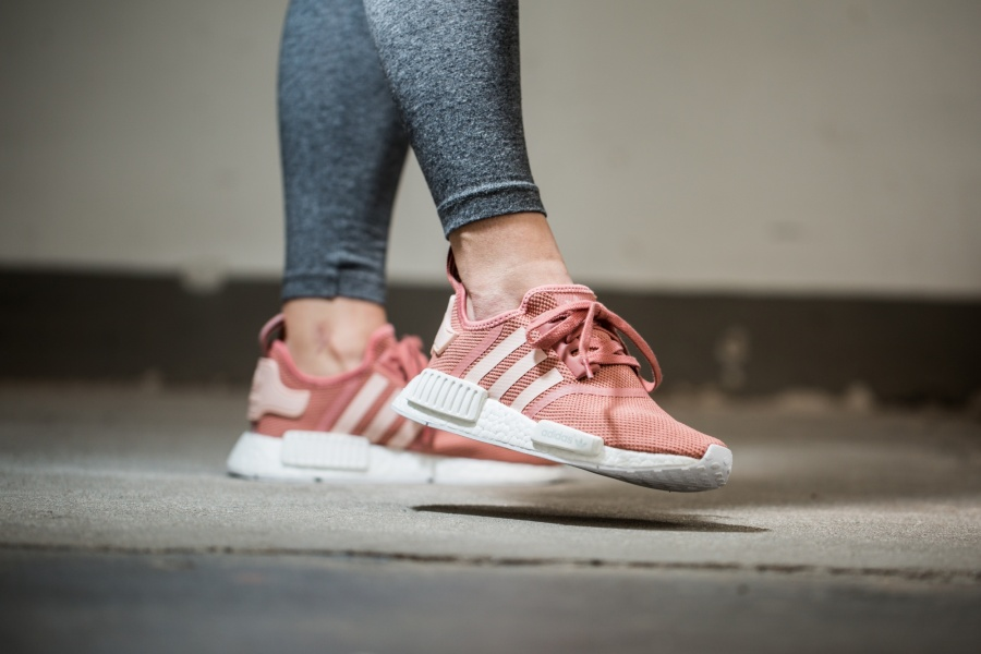 womens adidas nmd r1 pink cool sneakers. Black Bedroom Furniture Sets. Home Design Ideas