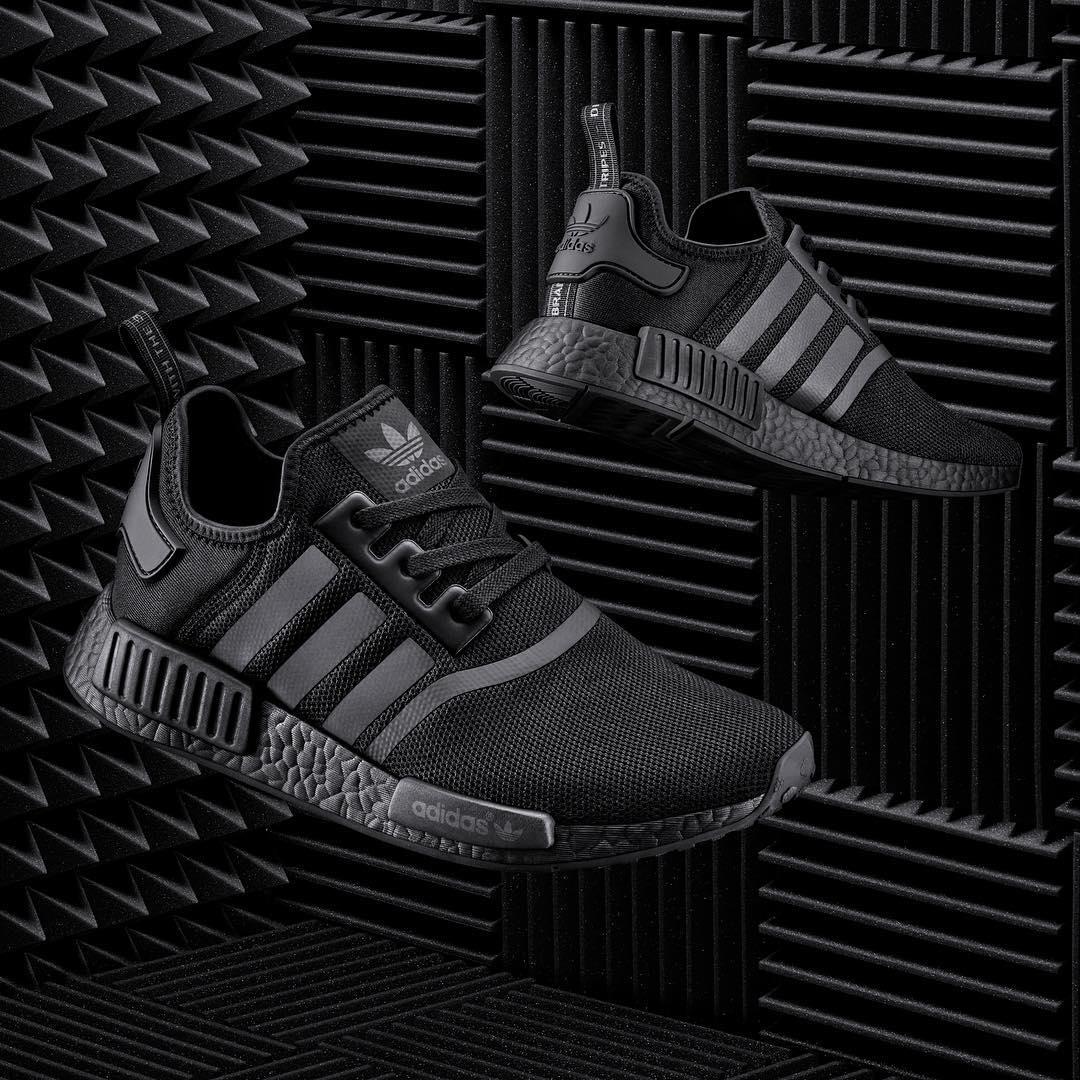 adidas nmd primeknit all black, Adidas danmark adidas