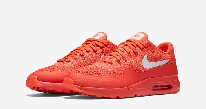 Nike Air Max 1 Ultra Flyknit Crimson