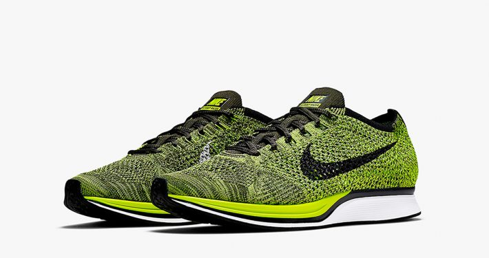 Nike Flyknit Racer Volt 2.0