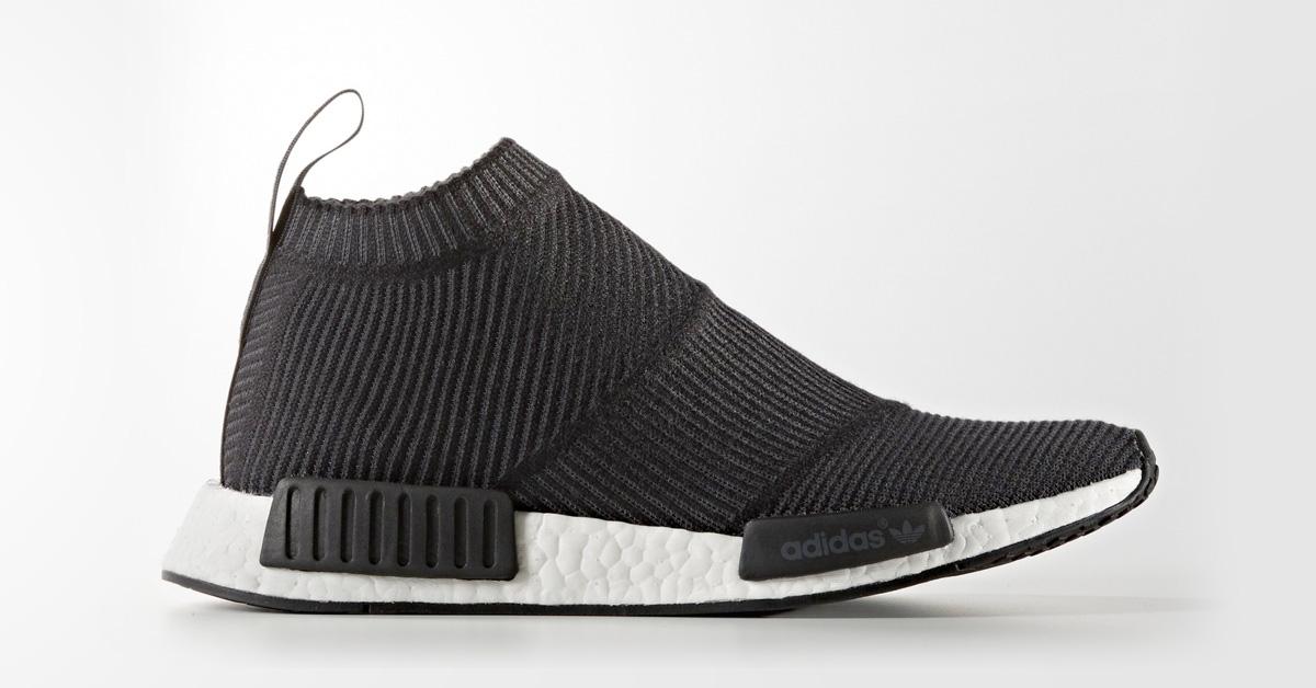 Adidas NMD CS1 Black Wool Cool Sneakers