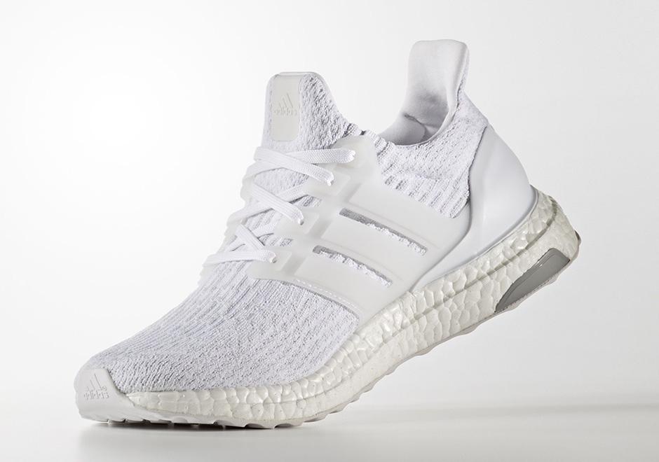 adidas ultra boost v3 triple hvid