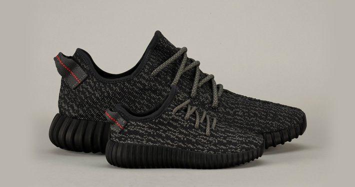 Adidas Yeezy Boost 350 Pirate Black til børn