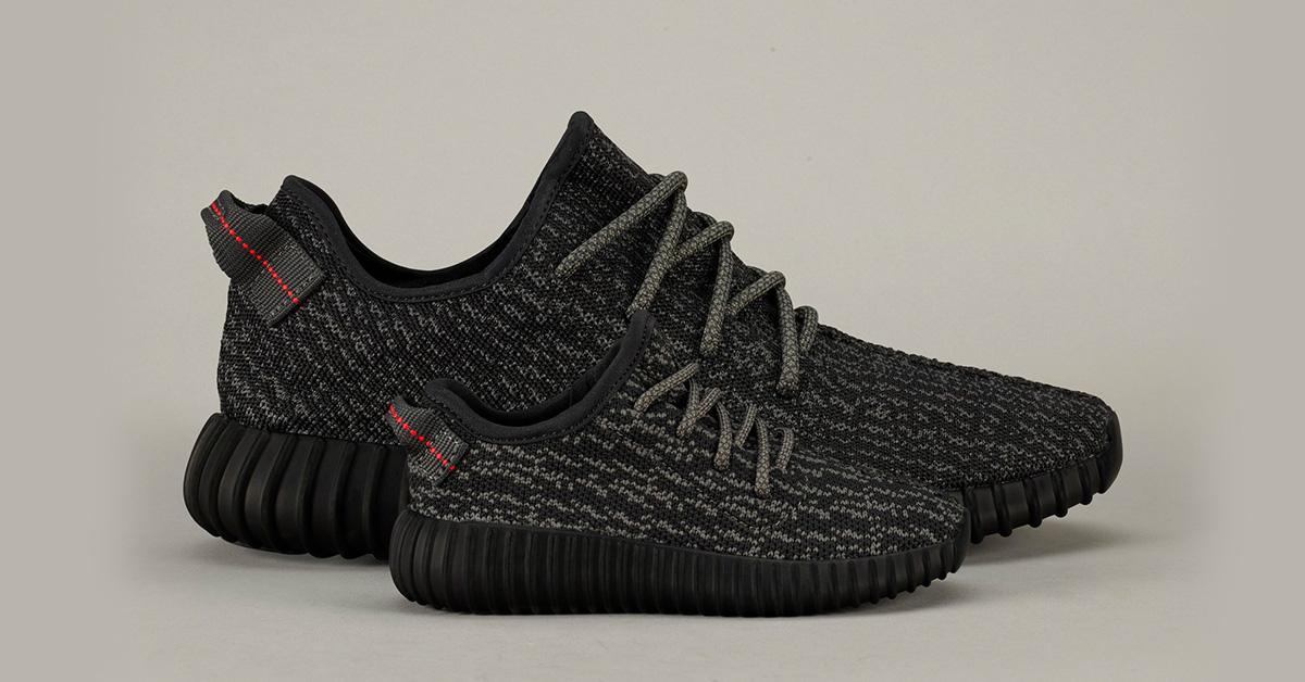 ad7dd291 Adidas Yeezy Boost 350 Pirate Black til børn - Cool Sneakers