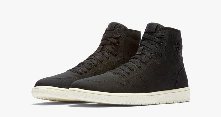 Nike Air Jordan 1 Retro High Black Sail