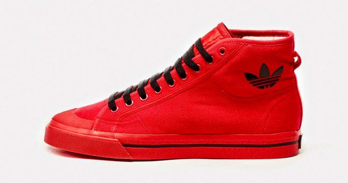 Raf Simons x Adidas Matrix Spirit High Red