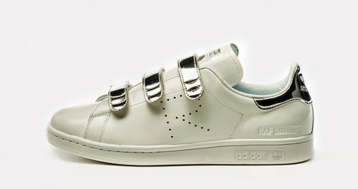 Raf Simons x Adidas Stan Smith CF White Silver