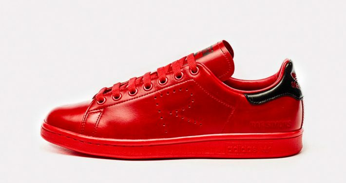 Raf Simons x Adidas Stan Smith Red