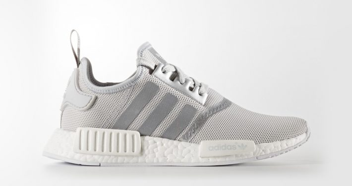 Womens Adidas NMD R1 Matte Silver