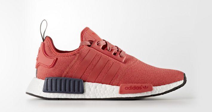 Womens Adidas NMD R1 Vivid Red