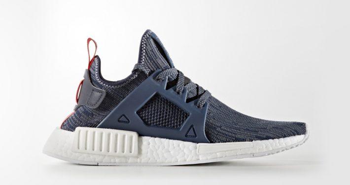 Womens Adidas NMD XR1 Primeknit Unity Blue