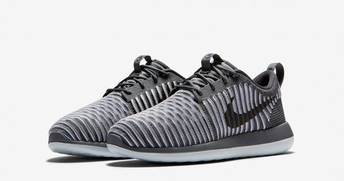 Womens Nike Roshe Two Flyknit Dark Grey