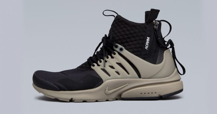Acronym x NikeLab Air Presto Mid Bamboo