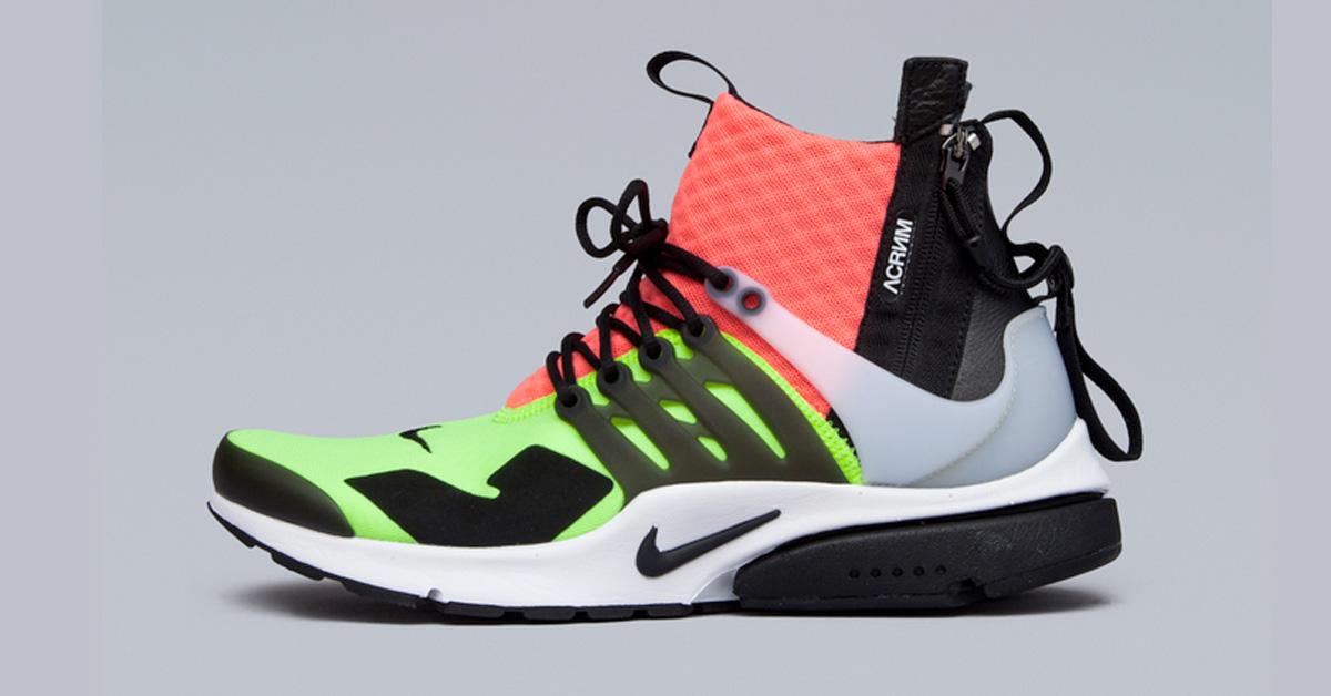 release date 6c8f7 bc823 Acronym x NikeLab Air Presto Mid Volt