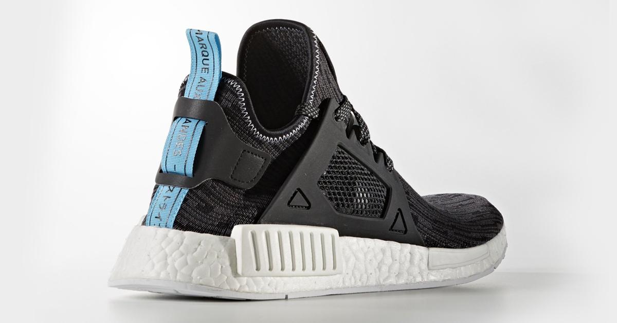 meet 1a211 e6f5c Adidas NMD XR1 Black Blue - Cool Sneakers