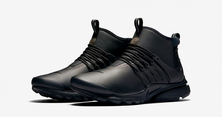 Nike Air Presto Mid Utility Black