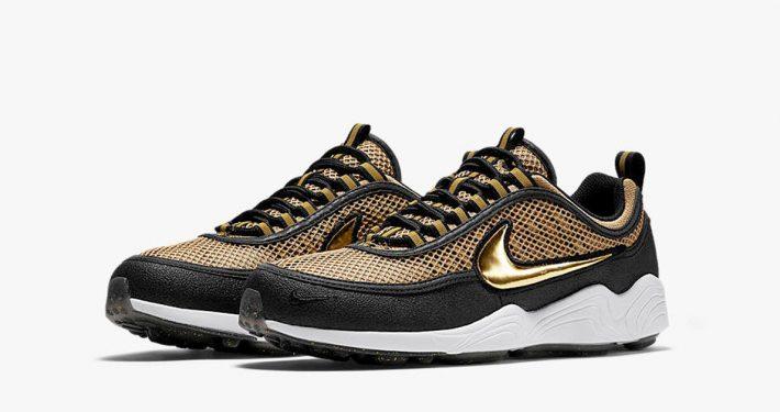 Nike Air Zoom Spiridon Metallic Gold