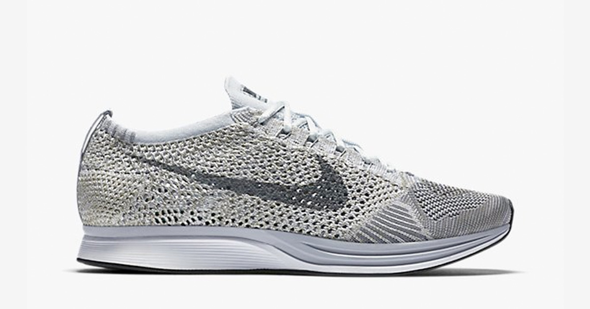 Nike FLyknit Racer Pure Platinum