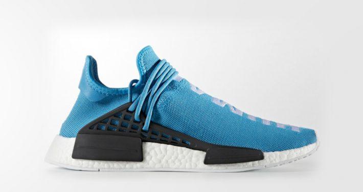 Pharrell x Adidas NMD Human Race Blue