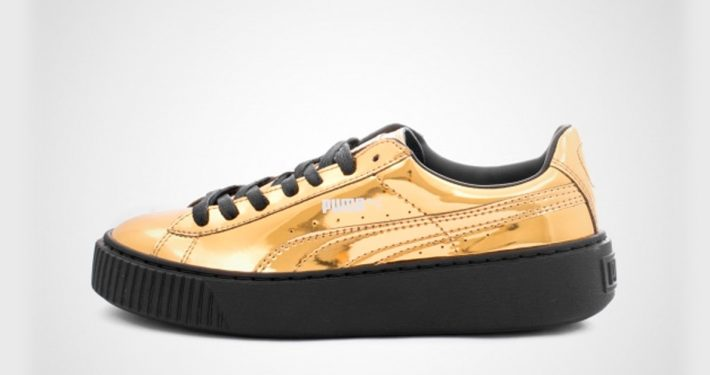Puma Platform Metallic Gold