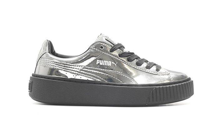 Puma Platform Metallic Silve