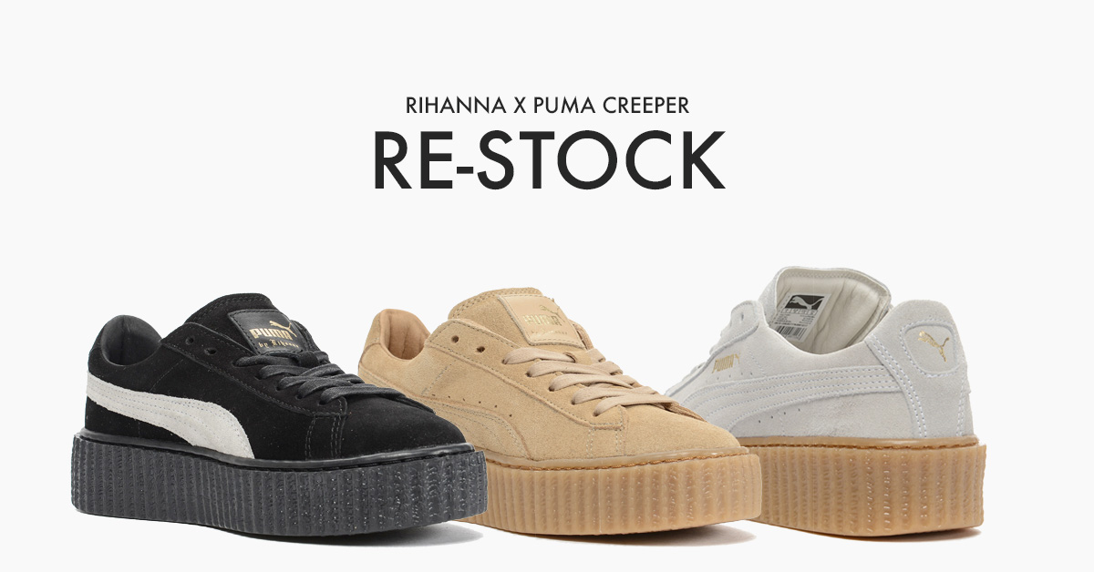 Rihanna x Puma Creeper Re-Stock