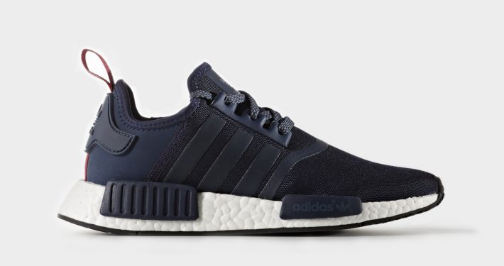 Womens Adidas NMD R1 Collegiate Navy