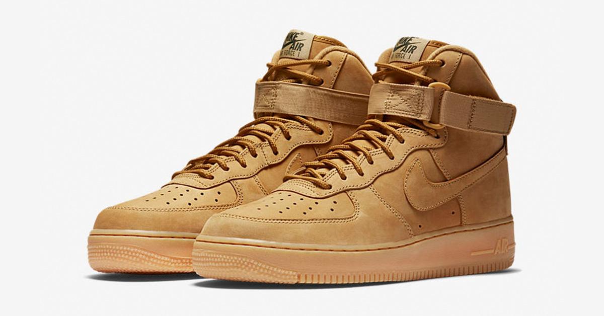 online retailer a6e1c 4d9b1 Nike Air Force 1 High Flax