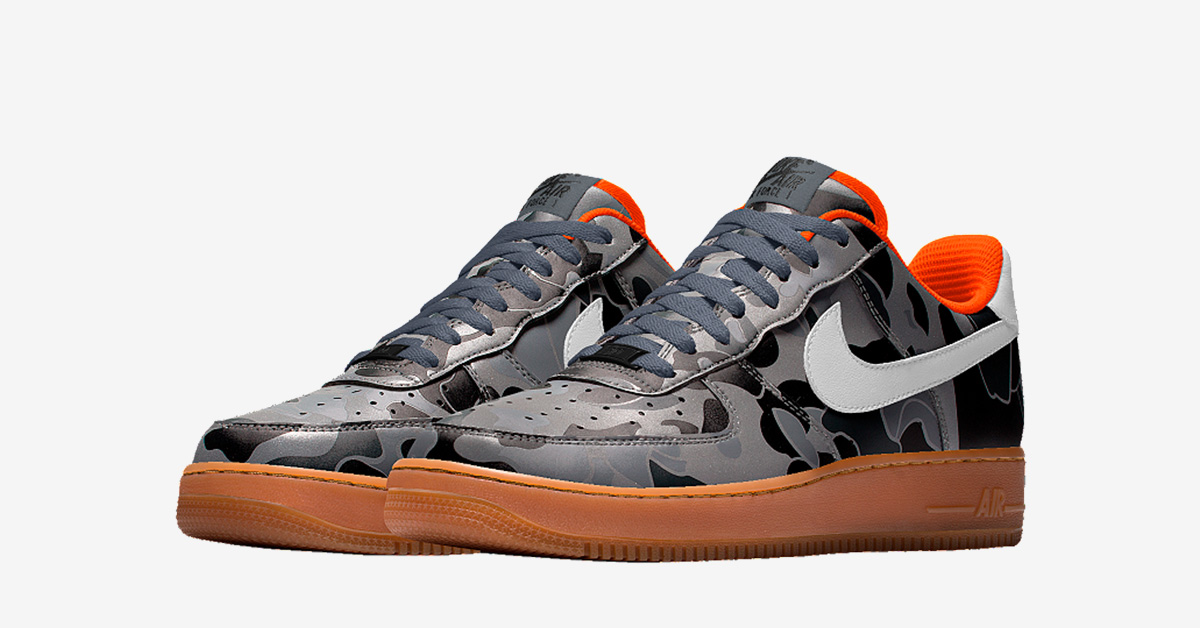 Nike Air Force 1 Low Tonal Duck Camo Cool Sneakers