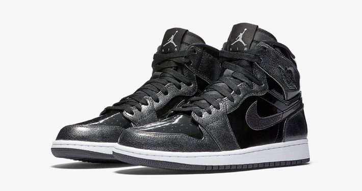 Nike Air Jordan 1 Retro High Black Patent Leather