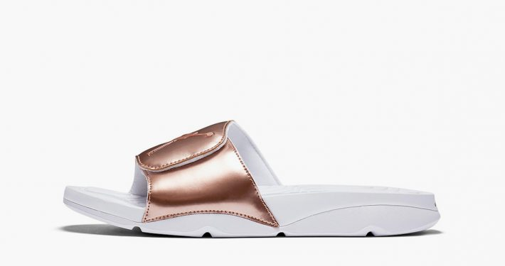 Nike Air Jordan Slide Pinnacle Metallic Bronze