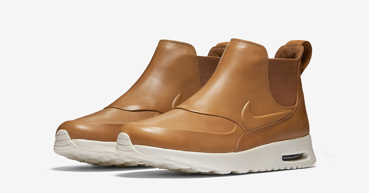 Dame Nike Air Max Thea MID (Brune) 859550 200 sko
