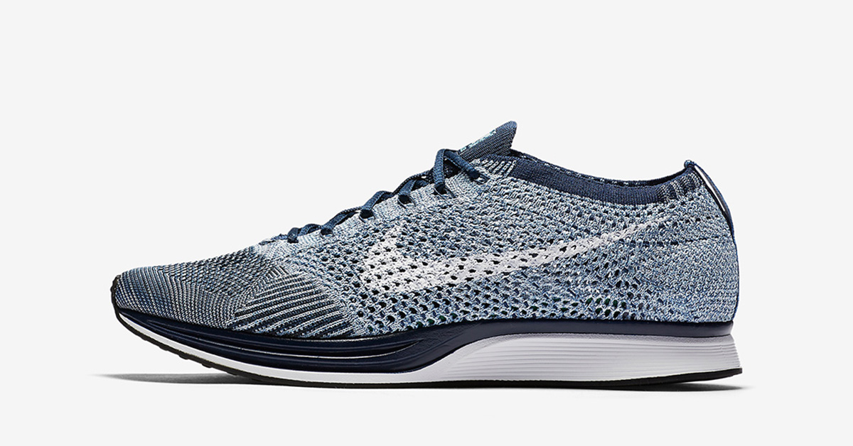 more photos 3b7f8 a8318 ... discount code for nike flyknit racer blue tint 640be df81f