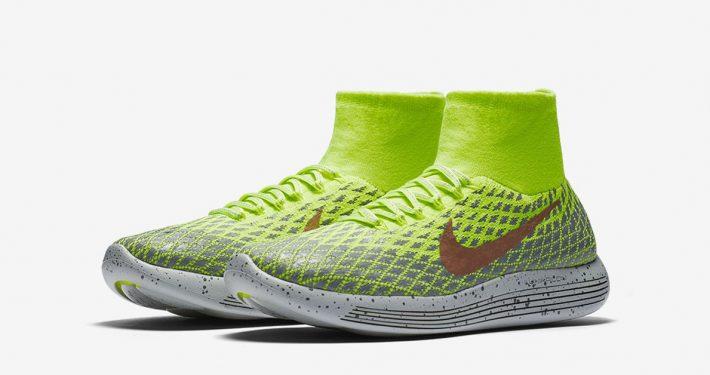 Nike LunarEpic Flyknit Shield Volt