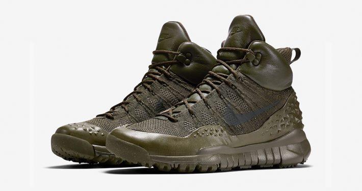 Nike Air Force 1 SneakerBoots Duckboot En fed vintertøvle