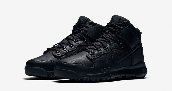 Nike SB Dunk High Sneakerboot Black