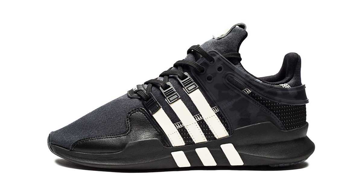 Undefeated x Adidas EQT ADV Support Cool Sneakers