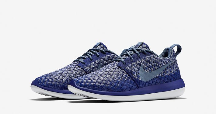 Womens Nike Roshe Two Flyknit 365 Deep Royal Blue