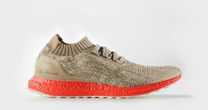 Adidas Ultra Boost Uncaged Khaki Orange