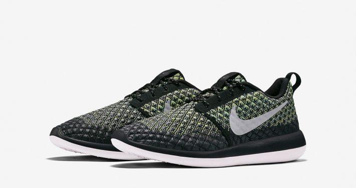 Nike Roshe Two Flyknit 365 Volt Green Glow