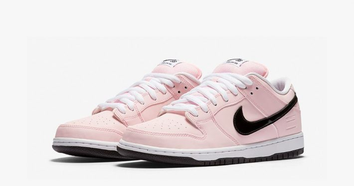 Nike SB Dunk Low Elite Pink Box