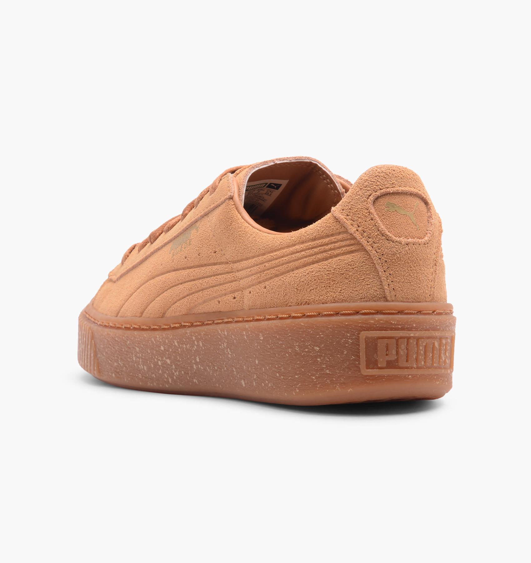 Puma Suede Platform Speckled Biscuit Cool Sneakers